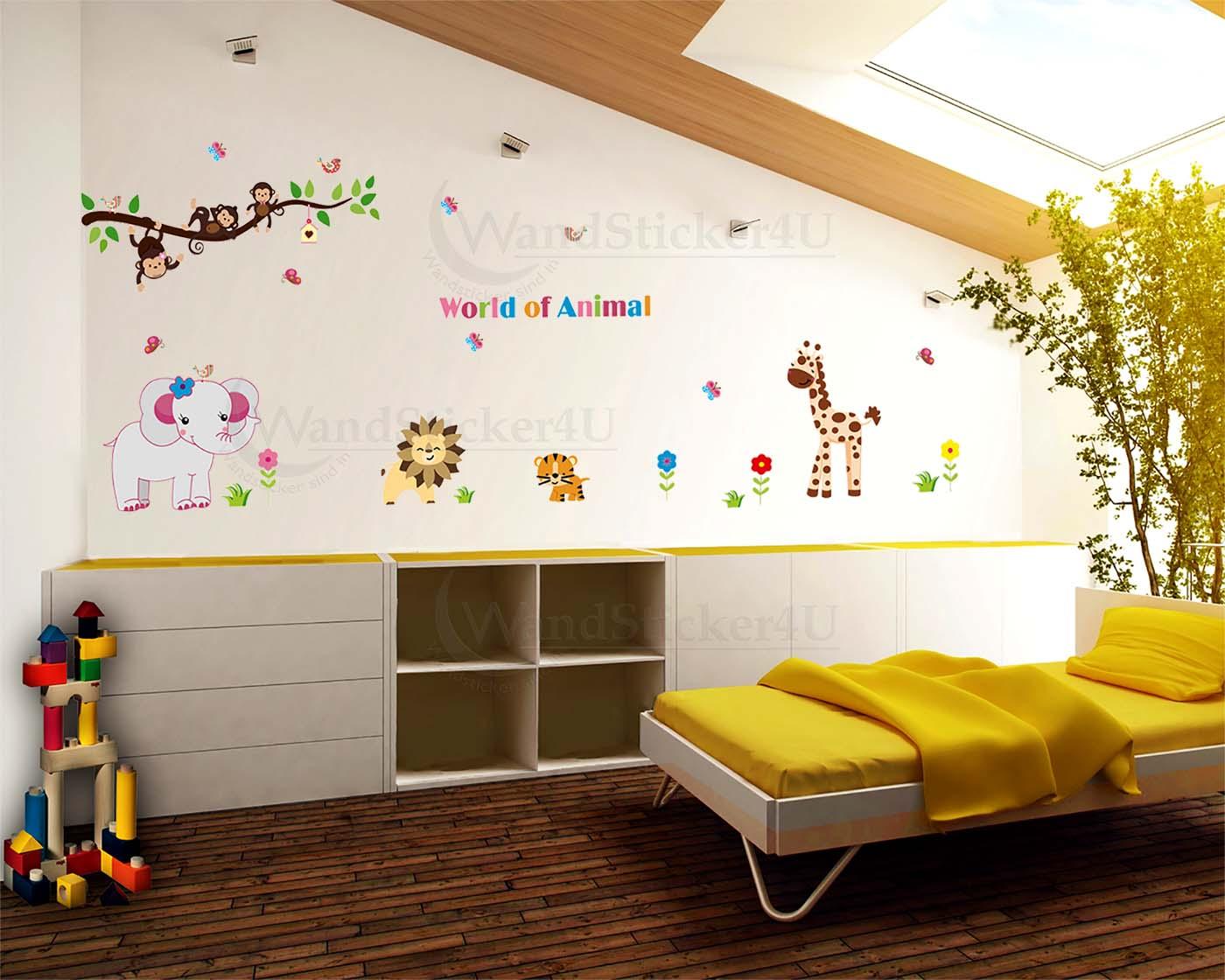 kinderzimmer deko l we. Black Bedroom Furniture Sets. Home Design Ideas